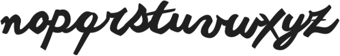Another shabby Cyrillic ttf (400) Font LOWERCASE