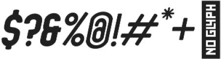 Ansen Heavy Italic otf (800) Font OTHER CHARS