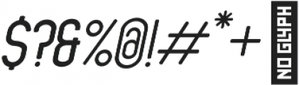 Ansen Semi Bold Italic otf (600) Font OTHER CHARS