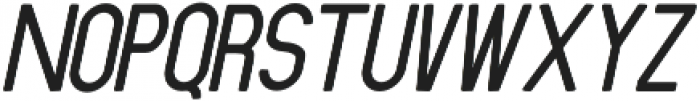 Ansen Semi Bold Italic otf (600) Font UPPERCASE