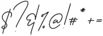 Ansterdam otf (400) Font OTHER CHARS
