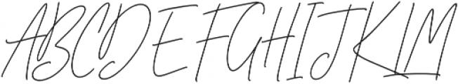 Ansterdam otf (400) Font UPPERCASE