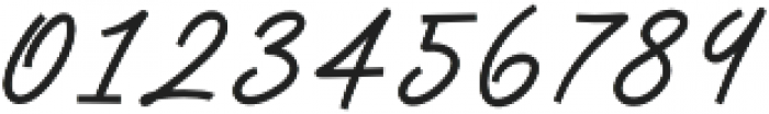 Anstery Script otf (400) Font OTHER CHARS