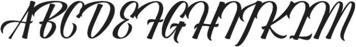 Antara Nodes otf (400) Font UPPERCASE