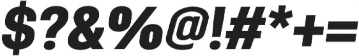 Antartida Black Italic otf (900) Font OTHER CHARS