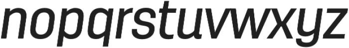 Antartida Medium Italic otf (500) Font LOWERCASE