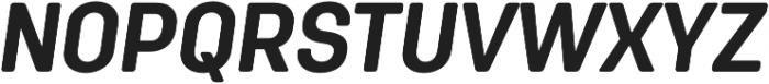 Antartida Rounded Bold Italic otf (700) Font UPPERCASE