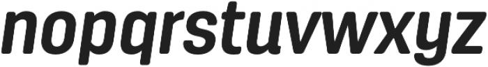 Antartida Rounded Bold Italic otf (700) Font LOWERCASE