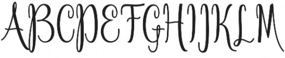 Anteater otf (400) Font UPPERCASE