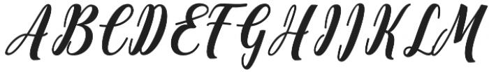 Antelope otf (400) Font UPPERCASE