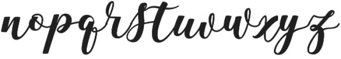 Antelope otf (400) Font LOWERCASE