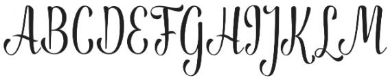 Anthem otf (400) Font UPPERCASE