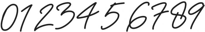 Anthoni Signature Bold otf (700) Font OTHER CHARS