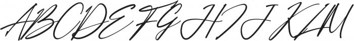 Anthoni Signature Bold otf (700) Font UPPERCASE