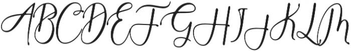 Anthony 2 Regular otf (400) Font UPPERCASE