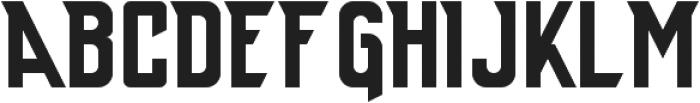 Anthony ttf (400) Font UPPERCASE
