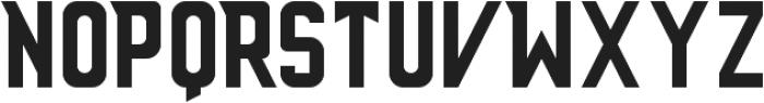 Anthony ttf (400) Font LOWERCASE