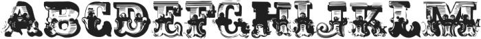 AntiRomantic OT SmallCaps otf (400) Font UPPERCASE