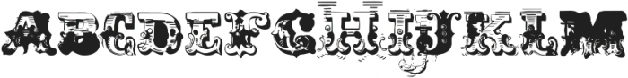 AntiRomantic OT SmallCaps otf (400) Font LOWERCASE