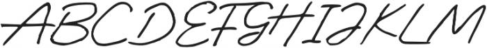 Antigua Presidente Regular otf (400) Font UPPERCASE