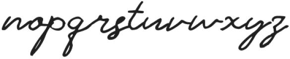 Antigua Presidente Regular otf (400) Font LOWERCASE