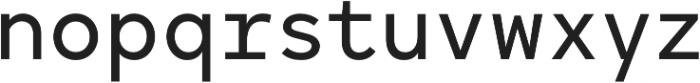 Antikor Text Medium otf (500) Font LOWERCASE