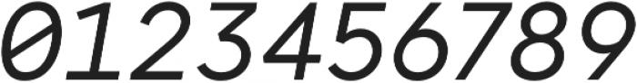 Antikor Text News Italic otf (400) Font OTHER CHARS