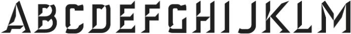 Antimony Dimensional otf (400) Font UPPERCASE