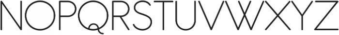 Antipasto Pro Extralight ttf (200) Font UPPERCASE