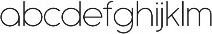 Antipasto Pro Extralight ttf (200) Font LOWERCASE