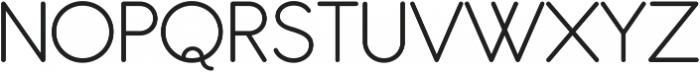 Antipasto Pro Light ttf (300) Font UPPERCASE