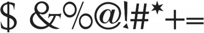 Antiqua otf (400) Font OTHER CHARS