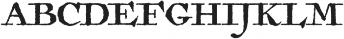 Antiquarian otf (400) Font UPPERCASE