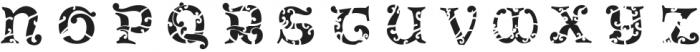 Antique Initials Letter otf (400) Font LOWERCASE