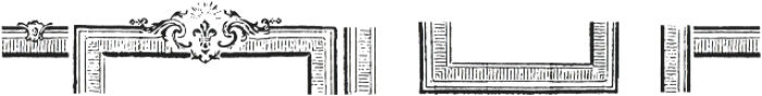 Antique Macabre Ornaments Regular otf (400) Font OTHER CHARS