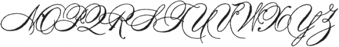 Antique Spenserian Standard otf (400) Font UPPERCASE