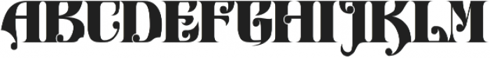 Antiqueen typeface otf (400) Font UPPERCASE