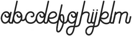 Antiqueline Regular otf (400) Font LOWERCASE