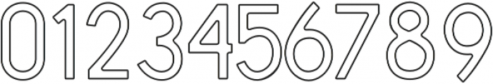Antone Outline otf (400) Font OTHER CHARS