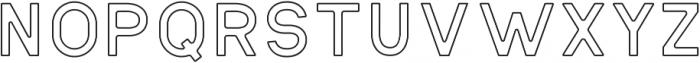 Antone Outline otf (400) Font LOWERCASE
