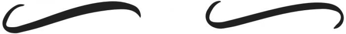 Antonette - Swashes Regular otf (400) Font UPPERCASE