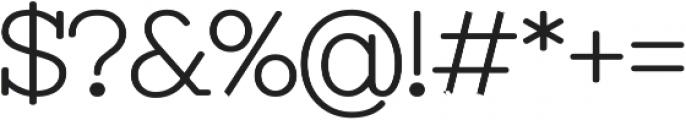 Antsy otf (700) Font OTHER CHARS