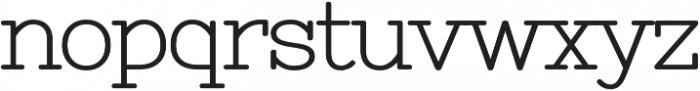 Antsy otf (700) Font LOWERCASE