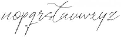 Antwerpen_script otf (400) Font LOWERCASE