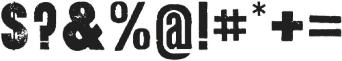 Anvil otf (400) Font OTHER CHARS