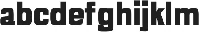 Anzil Black otf (900) Font LOWERCASE
