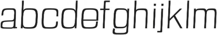 Anzil Light otf (300) Font LOWERCASE