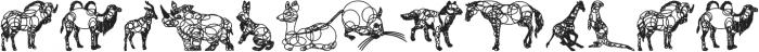 animaline ttf (400) Font UPPERCASE