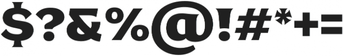 antey Black otf (900) Font OTHER CHARS