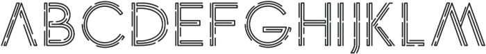 anxiety otf (400) Font LOWERCASE